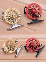 aluminum metal sheets - Full metal ultra light former ice fishing Reels wheel fly fishing reel CNC Machined Aluminum