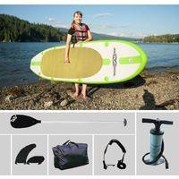 aqua inflatable boats - FULL SET AQUA MARINA ft SPK1 inflatable sup board stand up paddle board inflatable surf board surfboard inflatable boat kayaK