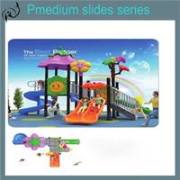 playground equipment - 2016 new design cheap design children playground equipment outdoor playground Sliding Board plastic slide Slippery slide playhouse