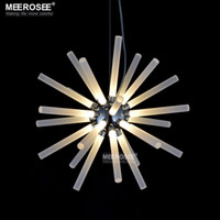 Wholesale Modern Suspension LED Pendant Lights Round Shape Loft Industrial LED Pendant Lamps For Living Room Bar Hotel Decoration Lighting