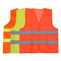 Wholesale New Polyester Reflective Safety Clothing for Roadway Safety New Light Safety Reflective Safety Clothing for Working design SJF
