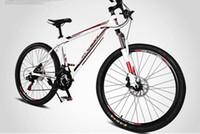 trek bike - 26 Inches x17 Inches Carbon Aluminum Mountain Bike Dual Disc Brakes Spring Fork Speed Student Mountain Bike