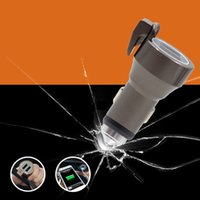 belt ac - 2016 new Metal Dual USB Car Charger Adapter with Safety Hammer and Seat belt Cut CE FCC RoHS Certification for Smartphones