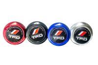 Wholesale TRD Engine Oil Fuel Filler Tank Cap Cover Aluminum Black For TOYOTA LEXUS SCION
