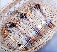 Wholesale Retro Imperial Crown Fruit Fork Cake Refreshments Forks Tableware DHL