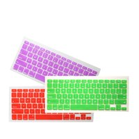 Wholesale RUSSIAN Letter Silicone US Keyboard Cover Skin Protector Protective FILM for Apple MacBook Air Inch For Mac Air quot