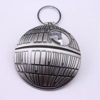 beer collectibles - 10pc Star wars Collectibles Dead Star DS Platform Beer Opener Keychain Galactic Empire Super Weapon Cosplay For The Force Awakens