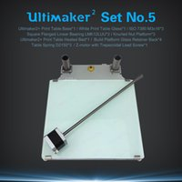 Wholesale UM2 D printer parts Ultimaker2 Print Table Base Plate Aluminum Kit Z motor with Trapezoidal Lead Screw