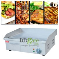 Wholesale Home Party Cafe Tea Shop Commercial use V v Electric Frying equipment Electric Griddle Hand grab Frying