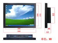 Wholesale 15 inch LCD SAW Touchscreen ALL in One PC Computer Car TV Monitor POS terminal industrial control monitor KSF D