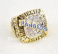 réplica de envío libre 1pc 1994 New York Rangers anillo de campeonato de Copa Stanley (cring0048)