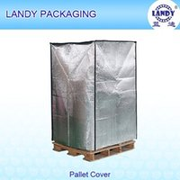 aluminum cargo - Aluminum foil bubble insulation side thermal pallet covers for Air Cargo red wine fresh vegetable