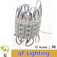 Wholesale New Arrival Injection ABS Plastic SMD Led Modules Leds W High Lumen Led Backlights String White Warm White Red Blue Waterproof