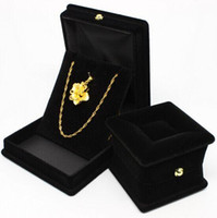 Wholesale Ring Boxes Pendant necklace sofa jewelry box New Creative Box Case wedding jewellery gifts