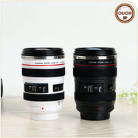 Wholesale The new creative gift mugs Stainless steel coffee cup SLR camera insulation cup can customize logo ECO friendly ml