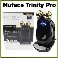 line sets - Nuface Trinity PRO K Gold Facial Toning Kit Limited Edition face massager Skin Care Device electric roller VS PMD Pro Mia