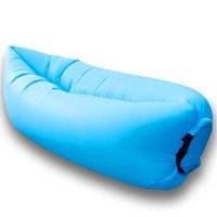 Wholesale Inflatable Beach Sofa Sleeping Bag Outdoor Air Lounger Sofa Couch Portable Furniture Inflatable beach lounger for Beach Camping