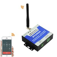 Wholesale New Free Call GSM Wireless Gate opener Remote Access Control Relay Switch for Garage Door Automatic Sliding opener with a Free Charge Call