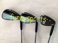 Wholesale Black SM5 Wedges Sm5 Golf Wedges With steel shaft Golf clubs Wedges Right hand