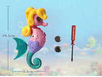 batteries jewels - 2016 hot new Zuru My Magical Seahorse Electronic Pet Jewel Water Activated bath toy fast shipping by dhl