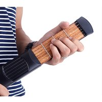 Wholesale High Quality Pocket Guitar Guitarra Portable Acoustic Guitar Practice Tool with Carrying Bag Gadget String Fret Model