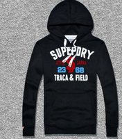Wholesale 2016 Sales Hiphop Superdry Hoodies Sweatshirts Fashion punk boy streetwear pullover men coat Jackets mix order