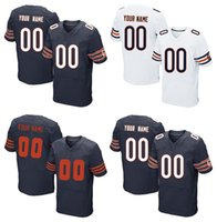 bear kid jersey - 2016 New Lowest Price Custom Elite Football Jerseys Men s Women s Kids Team Bears White Blue Top Quality Stitched Any Name and Number