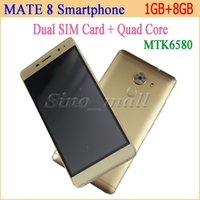 andriod case - 5 Inch XBQ MATE Smartphone Dual SIM Card MTK Quad Core Cellphone Support Andriod With Free Leather Case