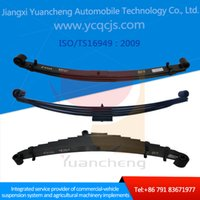 Wholesale China Factory Low Price Customized Material High Quality Leaf Spring for Better Comfortable Scania Vechicle Condition