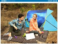 Wholesale Package mail the camel outdoor camping tents Set quick opening double double season tent