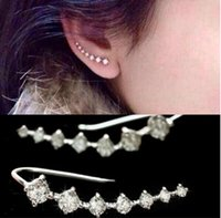 Wholesale Korean version of the new jewelry fashion wild seven full diamond earrings hypoallergenic earrings