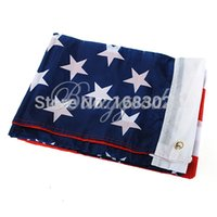 american flag pennant - United States American US USA National Flag x5Foot Stars Banner Pennant With Metal Grommets Polyester