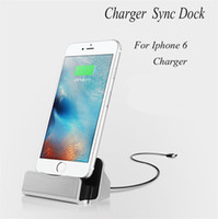 Cheap Newest For Iphone 6 Dock Charger Docking Stand Station Cradle For Micro USB Charge Sync Dock For Iphone 6 Android Mobile Phone DHL OTH250