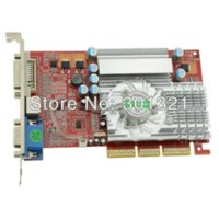 Wholesale 100 New NF GPU FX5700 AGP MB BIT Graphics Video VGA Card FX Dropship with tracking number