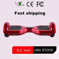 Wholesale Black Red Stock in USA Scooter Hoverboard wheels self balancing electric scooter Smart balance wheel Nice hover board