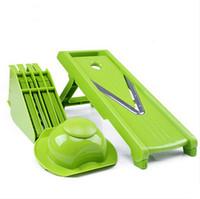 Wholesale Blades Professional Mandoline Slicer Food Chopper Fruit Vegetable Cutter kitchen Accessories YH056