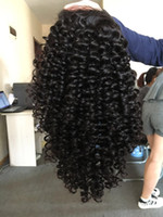 Wholesale Brazilian Virgin Human Hair Full Lace Wigs For Black Women Afro Kinky Wig Natural Color Unprocessed Virgin Hair