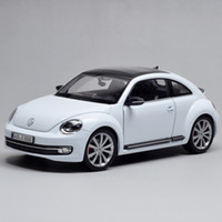 Wholesale Diecast Model VW Beetle White Alloy Car Model Toy Vehicle Car Model Alloy Model Toys gift Toy car