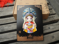 animal clay sculpture - Peking Opera Characters Figurative Pendant Fuga Church Clay Sculpture With Chinese Characteristics Commemorative Gifts