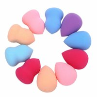 Wholesale D6li Pro Beauty Flawless Makeup Blender Foundation Puff Multi Shape Sponges New for face makeup comestic puff My9