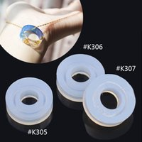 Wholesale piece DIY Silicone Faceted Ring Mould Jewellery Making Tools Equipments