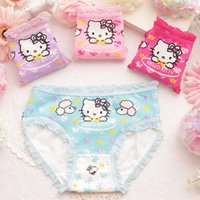 baby underwears - 2 Y Hello Kitty Girls Underwears Cotton Underpanties for Baby and Big Girl Underwear Shorts Kids Briefs Cartoon Print Panties
