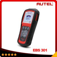 automotive brake systems - 100 Original AUTEL MaxiService EBS301 Electric Brake Service Tool Multi brand applications Read and Clear EPB SBC trouble Codes