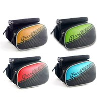 Wholesale B SOUL Bicycle Waterproof Bag for inch Mobile Phone Front Frame Storage Bag for Touchscreen Phone