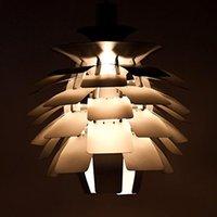 Wholesale Dia cm White Hot Pink Silver Golden Copper Poul Henningsen PH Artichoke Ceiling Light Pendant Lighting Droplight Lamp