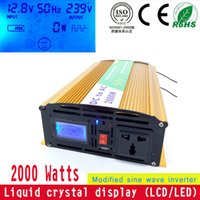 Wholesale 2000 Modified wave inverter V to V home inverter PV off grid inverter