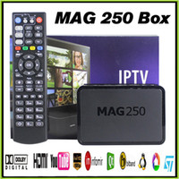 Wholesale Mag IPTV Box Android TV Box Quad Core STi7105 Full HD VS MAG MXQ S905 M8S Mini T95N TV BOX Refly