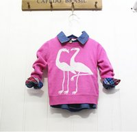 Wholesale NEW Autumn Kids Pure Pullover Sweater Soft Pattern Boys Sweater European American Style