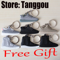 Wholesale Tanggou Come Back Kanye West Boost keychain for free unisex sneaker man and women shoes for sale drop shipping accepted
