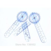 Wholesale quot mm Goniometer Angle Medical Ruler Plastic PVC protractor